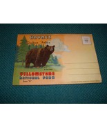 Vintage Haynes Yellowstone Postcard Folder  - $9.99