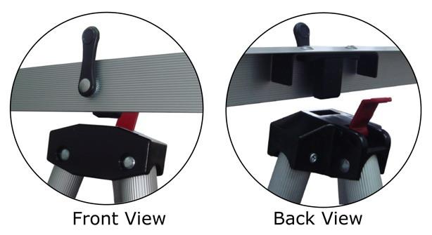 Lightweight Aluminum Flip-Chart Presentation Easel, Silver