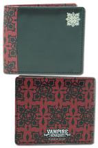 Vampire Knight: Cross Academy Rose Logo Wallet GE3068 NEW! - $19.99