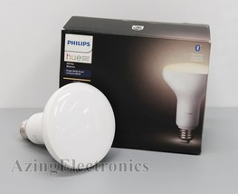 Philips Hue 538157 White BR30 Bluetooth Smart LED Bulb Soft White - $11.99