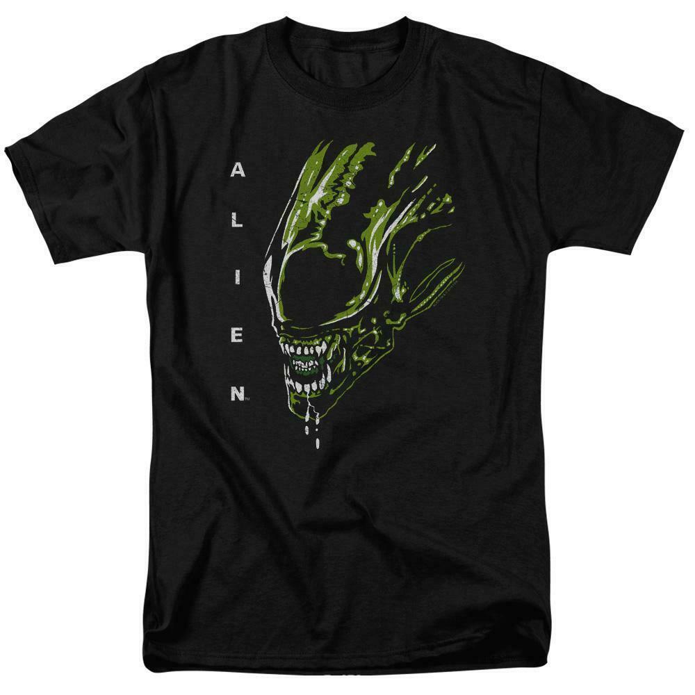 Alien t-shirt retro 70's 80's Sci-Fi horror film Ripley adult graphic tee TCF102
