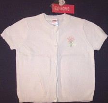 NWT Gymboree SS White Sweater, Garden Bloom, 18-24M, $32.50 - $11.99