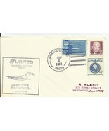 FIRST FLIGHT CHARLOTTE, NC - CHICAGO, IL 9/9/1981 UNITED AIRLINES - $1.98