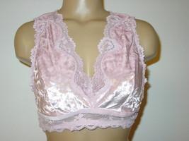 16245774af Victorias Secret Dream Angel pink crush velvet bra bralette open  back-XL-NEW -