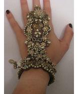 MICHAL NEGRIN Goddess Victorian Vintage Ring Br... - $660.00