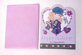 American Greetings Holly Hobbie Birthday Card Happy Birthday to a specia... - $2.97
