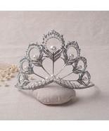 Miss Universe Crown nova princesa Diana coroa de cristal e perola de cab... - $47.21