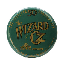 Vintage MGM The Wizard of Oz 50th Anniversary Promotional Pinback Button... - $13.98