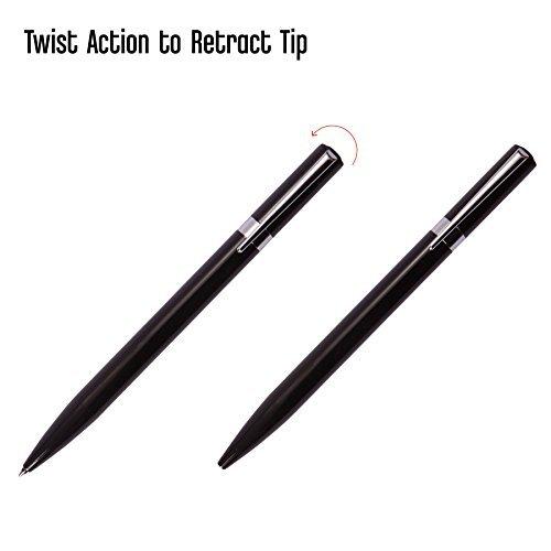 Tombow 55112 ZOOM L105 Ballpoint Pen, Black, 1-Pack. Slim Tapered Design for Com