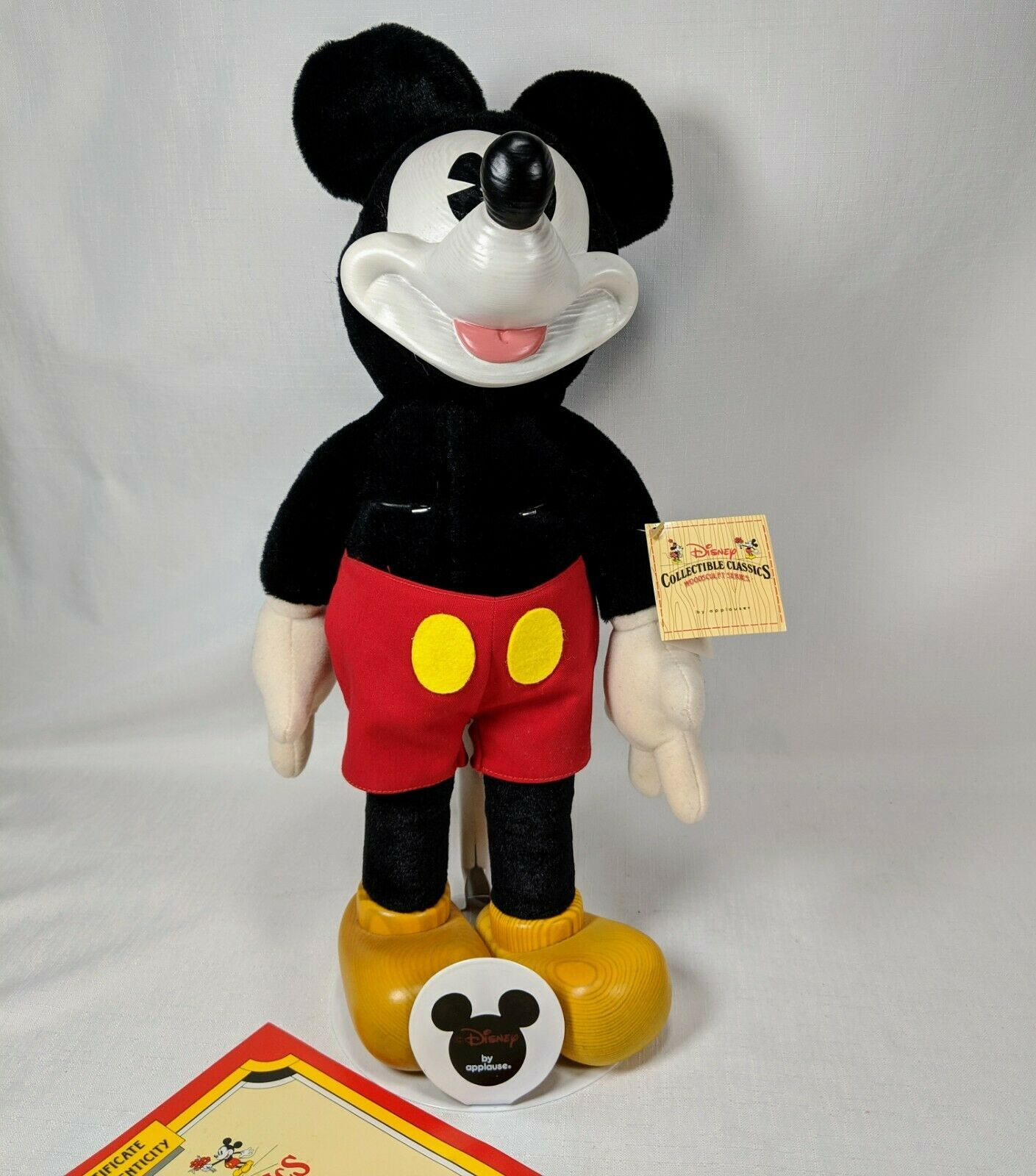 Disney Charlotte Clark Dolls Mickey Mouse Disney Collectible Classics 1930 1990