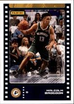 2019-20 Panini NBA Sticker Box Standard Size Insert #45 Malcolm Brogdon Indiana  - $1.95