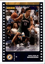 2019-20 Panini NBA Sticker Box Standard Size Insert #45 Malcolm Brogdon ... - $1.95