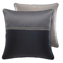 "New Croscill Natalia Reversible European Pillow Sham Navy Color 26""x26"" - $37.89"