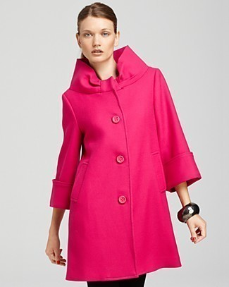 NEW Kate Spade Cherie Wool Coat Pink 6/S $695 Pink 10% off with buy it now