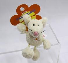 "NICI Mouse Rat Beige Animal Plush Stuffed Toy Beanbag Key Chain Key Ring 3"" - $12.00"