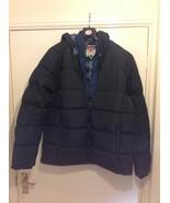 Lee Cooper 2 Zip Bubble Jacket / Mens - Sizes: M / L / XL - Colour : Navy - $33.50