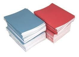 "SCHOOL EXERCISE BOOKS 15mm LINES A5 32 Page 165 x 203mm ""10 Pack"""
