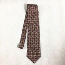 "Boston Traders Silk Tie Mens Ties 4"" Width Made In USA Lattice Geometric - $9.46"