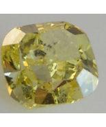 1.71 Ct Cushion Yellow BIG LOOSE DIAMOND ENGAGEMENT EGL - $4,035.70
