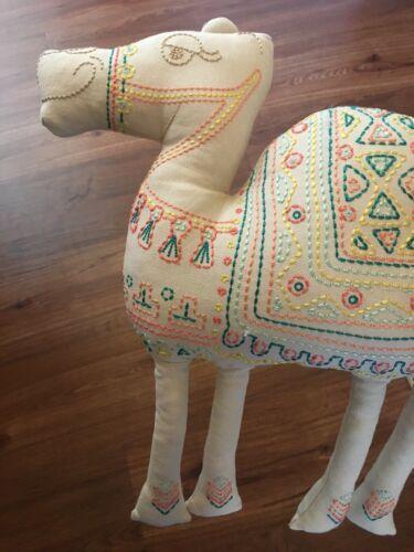 CAMEL Shaped PILLOWFORT Throw Pillow Camel boho Desert Home Decor Bedding NEW image 5