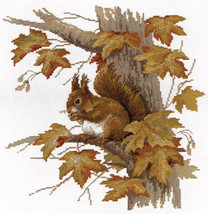 Cross Stitch Kit Panna Squirrel - $36.00