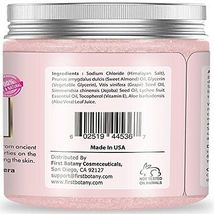 100% Natural Himalayan Salt Scrub 12 oz with Lychee Oil and Sweet Almond... - $46.00