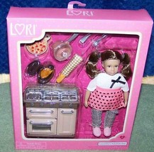"Lori by Our Generation Cornelia's 6"" Doll & Kitchen Set New - $30.88"