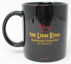The Lion King  Coffee Mug Cup Disney Pantages Theatre Los Angeles California - $32.58
