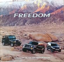 2003/2004 Jeep FREEDOM EDITIONS sales brochure folder US Grand Cherokee ... - $10.00