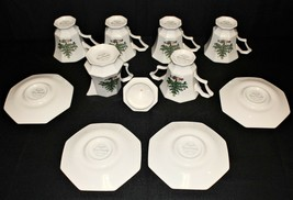 NIKKO Classic Collection 11-PC Christmas 4 Cups, 4 Saucers, Creamer, Sugar & Lid - $50.00