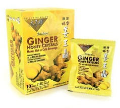 Best Ginger Tea with Honey Crystals 30 bags - $17.00