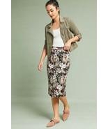 New Anthropologie Jardin Jacquard Pencil Skirt by Isla Maude $118 SMALL - $49.50