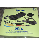 Focus Onn. Action Camera Accessory Kit- Essentials for GoPro® and Others... - $16.48