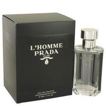 Prada L'homme Prada Cologne 1.7 Oz Eau De Toilette Spray image 1