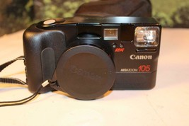 VINTAGE CAMERA - CANNON ZOOM 105 W/CASE  - EXC- W17 - $19.59