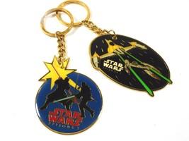 Applause 1999 Lucasfilm ltd Star Wars Keychain Key Ring lot of 2  - $11.88