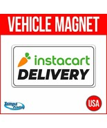 INSTACART DELIVERY Heavy Duty Vehicle Magnet Truck Car Sticker Decal Sig... - $17.09+