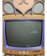 "Disney Princess Pink 13"" CRT Color TV Retro Gaming  DT1350-P Tested!  Work - $59.99"