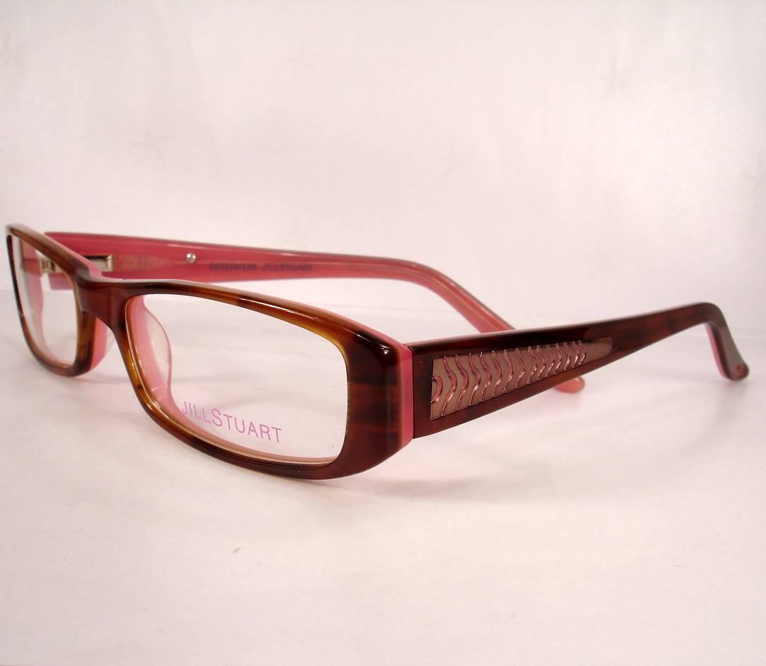 Jill Stuart Eyeglasses 265 Brown Pink Women and 50 similar items