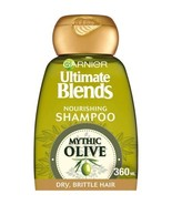 Garnier Ultimate Blends Olive Oil Dry Hair Shampoo 360ml - $12.62