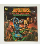 The Sword of Skeletor Masters of the Universe Golden Book Vintage 1983 MOTU - $13.99