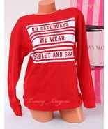 PINK VS Collegiate Collection Sport Sweatshirt Long Sleeve Size XS X-Sma... - $47.99