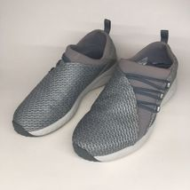 Merrell Womens Sz 6.5 Grey Mesh Slip On Comfort Air Cushon Walking Shoe - $30.89