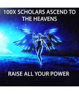 100X 7 SCHOLARS ASCEND TO THE HEAVENS RAISE ALL YOUR POWER MAGICK RING PENDANT - $99.77