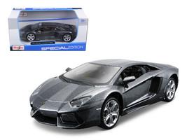 Lamborghini Aventador LP700-4 Grey 1/24 Diecast Model Car by Maisto - $51.99