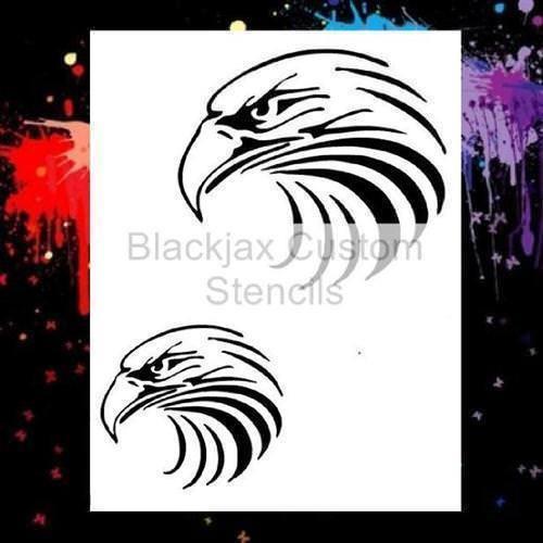 Tribal Eagle Set 01 Airbrush and 50 similar items
