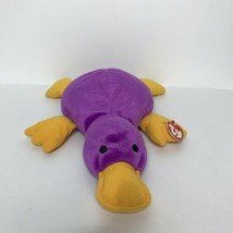 "Ty Paddles Platypus Pillow Pals Plush Purple 14"" Soft Toy Stuffed Animal 1998 - $18.80"