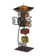 Deco Glow Candle-on-a-Rope Holder, Scroll Cross - Includes one Candle on... - $29.50