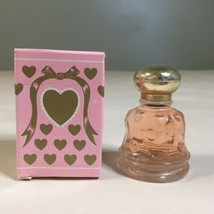 Vintage Avon Lovechimes Roses Roses Cologne .5 fl oz Full Bottle W/ Orig... - $4.94