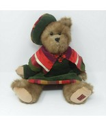 Trade Secret Holiday Caroler Christmas Plush Teddy Bear Ruby 2006 Red Br... - $12.16